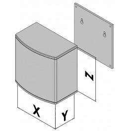 Caja de plástico EC30-470-37