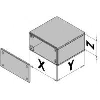 Caja de plástico con puerta EC30-4xx